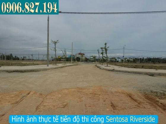 Phân làn đường tại dựán Sentosa Riverside