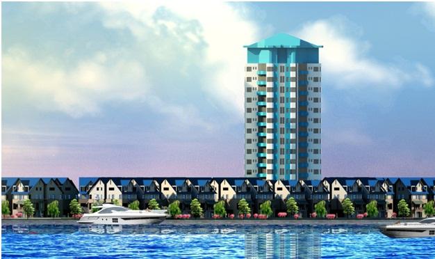 Nhà hướng sông dự án Sentosa Riverside Đà Nẵng