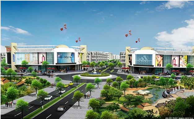 Hạ tầng dự án Sentosa Riverside Đà Nẵng (2)